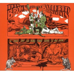 Pete Brown And His Battered Ornaments – A Meal You Can Shake Hands With In The Dark - LP Vinyl Album - Psychedelic Rock