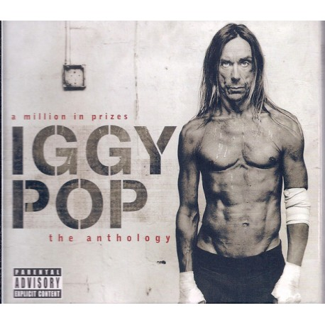 Iggy Pop ‎– A Million In Prizes - The Anthology - Double CD Album + DVD - Alternative Rock