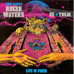 Roger Waters (Pink Floyd) – Live In Paris Arena 2018 - Double CD Album Digipack - Psychedelic Rock