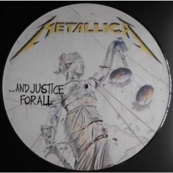 Metallica – ...And Justice For All - LP Vinyl Album - Picture Disc - Hard Rock Heavy Metal