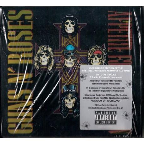 Guns N' Roses - Appetite For Destruction - Double CD Album - Hard Rock