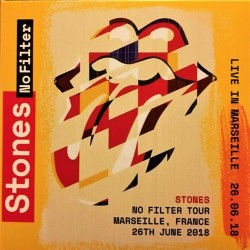 The Rolling Stones - No Filter - Live in Marseille 2018 - Double CD Album - Blues Rock