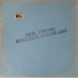 Neil Young ‎– Boulder, Colorado - LP Vinyl Album - Coloured Green - Folk Music
