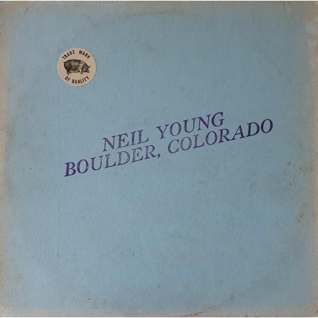 Neil Young – Boulder, Colorado - LP Vinyl Album - Coloured Green - Folk Music