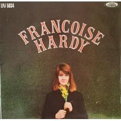Françoise Hardy – Françoise Hardy - 2nd - LP Vinyl Album - Popular French Songs