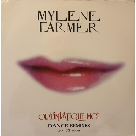 Mylene Farmer - Optimistique-Moi - Maxi Vinyl 12 inches - Promo - Popular French Songs
