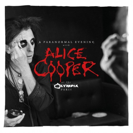 Alice Cooper - A Paranormal Evening With Alice Cooper At The Olympia Paris - Double CD Album - Alternative Goth Rock