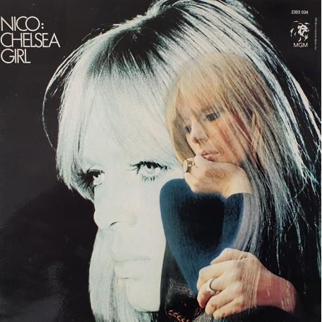 Nico (Velvet Underground) -  Chelsea Girl - LP Vinyl Album - Folk Rock Music