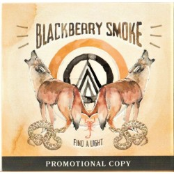 Blackberry Smoke ‎– Find A Light - CDr Album Promo - Blues Rock