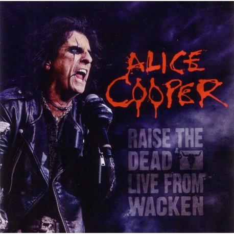 Alice Cooper - Raise The Dead - Live From Wacken - Double CD Album + DVD Promo - Alternative Rock