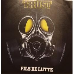 Trust - Fils De Lutte - CDr Single Promo - Rock Français