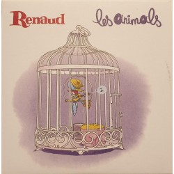 Renaud - Les Animals - CDr Single Promo - French Popular Songs