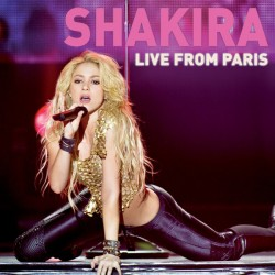 Shakira ‎– Live From Paris - CD + DVD Album - Latin  Pop