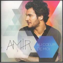 Amir - Au Coeur De Moi - CD Cardboard Promo - Eurovision -Dance Pop