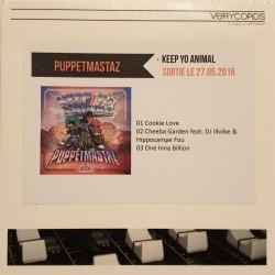 Puppetmastaz – Keep Yo Animal - Cdr Single Promo - German Hip Hop