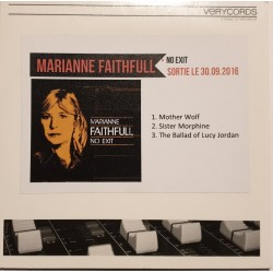 Marianne Faithfull – No Exit - CDr Single Promo - Pop Music