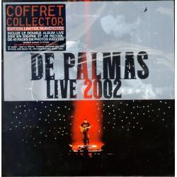 Gérald De Palmas – Live 2002 - Coffret Collector Double CD + Book - French Songs