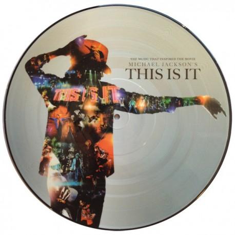 Michael Jackson – This Is It - LP Vinyl Album - Picture Disc - Funk Soul