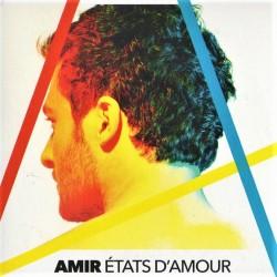 Amir - États D'Amour - CDr Single Promo - Dance Pop