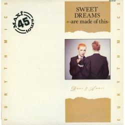Eurythmics ‎- Sweet Dreams (Are Made Of This) - Maxi Vinyl 12 inches - Synth Pop New Wave
