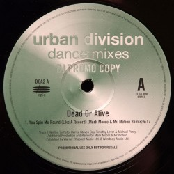 Dead Or Alive ‎– You Spin Me Round (Like A Record) - Maxi Vinyl 12 inches - Synth Pop Dance