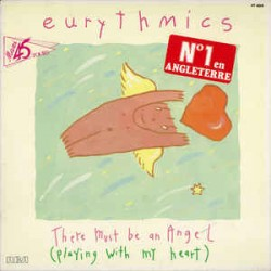Eurythmics ‎– There Must Be An Angel - Maxi Vinyl 12 inches - Synth Pop