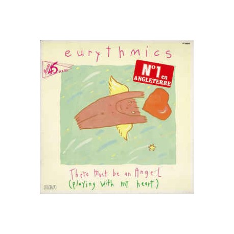 Eurythmics – There Must Be An Angel - Maxi Vinyl 12 inches - Synth Pop