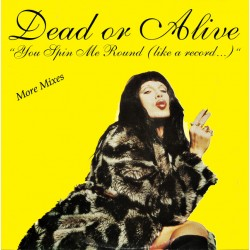 Dead Or Alive – You Spin Me Round (Like A Record ...) - Maxi 12 inches Promo - House Music