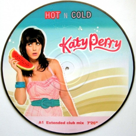 Katy Perry – I Kissed A Girl - Part 1 - Maxi Vinyl 12 inches - Picture Disc - Electronic Pop