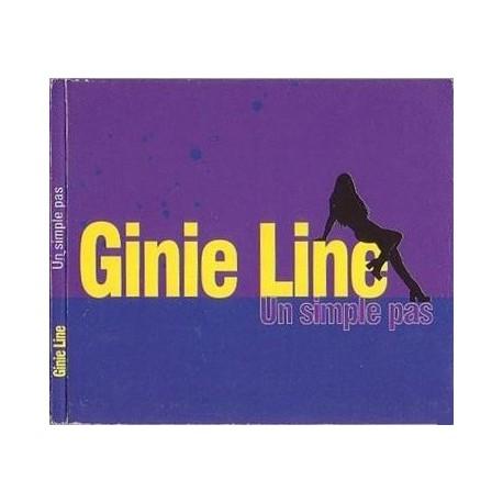 Ginie Line – Un Simple Pas - CD Maxi Promo Digipack