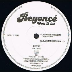 Beyoncé – Work It Out Remixes - Maxi Vinyl 12 inches - Promo - Hip Hop