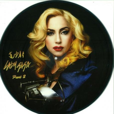 Lady Gaga – Judas - Part 2 - Maxi Vinyl 12 inches - Picture Disc