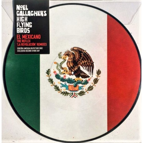 Noel Gallagher's High Flying Birds (Oasis) – El Mexicano - Maxi Vinyl 12 inches - Picture Disc - Electronic Rock
