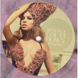 Beyoncé - Countdown Remixes - Maxi 12 inches - Coloured Pink Marbled - House Electronic