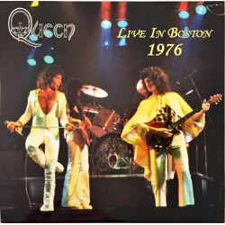 Queen ‎– Live In Boston 1976 - Double LP Vinyl Album - Art Rock