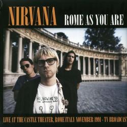 Nirvana – Rome As You Are - LP Vinyl Album - Grunge Rock
