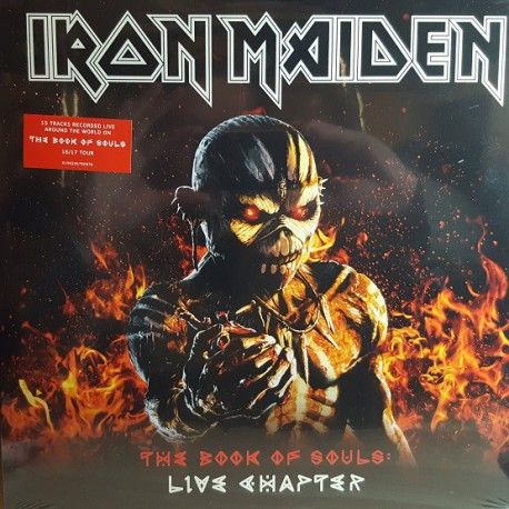 Iron Maiden – The Book Of Souls - Live Chapter - Triple LP Vinyl Album - Heavy Metal