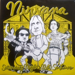 Nirvana – Saturday Night Not-So Live - LP Vinyl Album - Grunge Rock