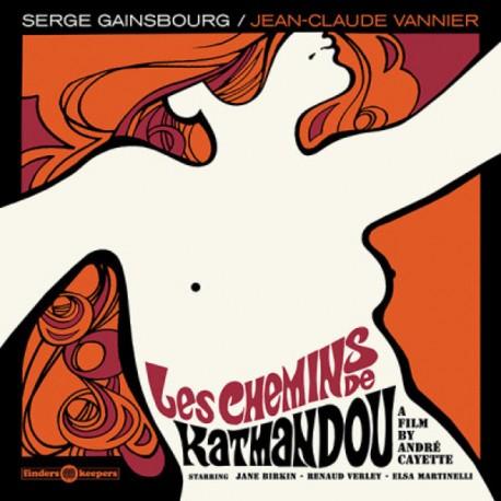 Serge Gainsbourg / Jean-Claude Vannier – Les Chemins De Katmandou - LP Vinyl Album - Psychedelic Soundtrack