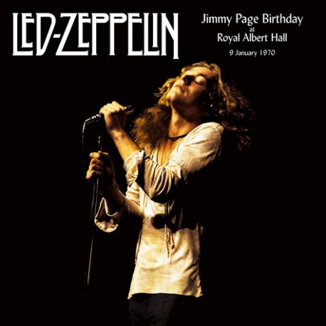 Led Zeppelin - Jimmy Page Birthday At The Royal Albert Hall 1970 - Double LP Vinyl Album - Rock Music
