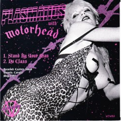 Plasmatics With Motörhead ‎– Stand By Your Man - Vinyl 7 inches 45RPM - Hard Rock Metal