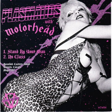 Plasmatics With Motörhead – Stand By Your Man - Vinyl 7 inches 45RPM - Hard Rock Metal