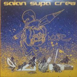 Saïan Supa Crew – KLR - Double LP Vinyl Album - Coloured Blue - Rap Français
