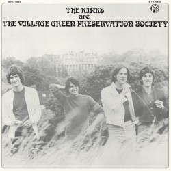 The Kinks ‎– The Kinks Are The Village Green Preservation Society - LP Vinyl Album - British Rock