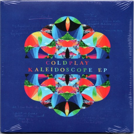 Coldplay ‎– Kaleidoscope EP - Maxi 12 inches Vinyl - Pop Rock Music