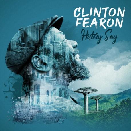 Clinton Fearon – History Say - CD Album Promo Cardsleeve - Reggae Roots