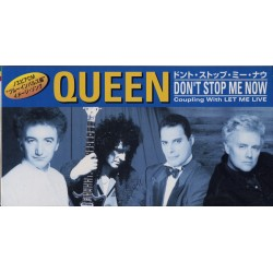 Queen ‎– Don't Stop Me Now - CDv Mini Single Japan - Rock Music