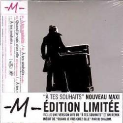M - Matthieu Chedid - A Tes Souhaits - CD Maxi Edition Limitée
