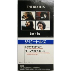"The Beatles ‎– Let It Be - CD Mini Single 3"" Japan - British Pop Rock"