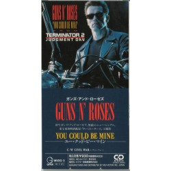 "Guns N' Roses ‎– You Could Be Mine - Terminator 2 - CD Mini Single 3"" Japan - Hard Rock"